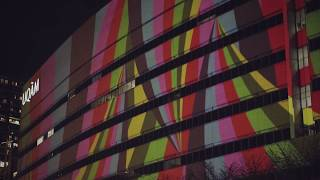 Projection architecturale «UQAM: 50 ans d'audace»