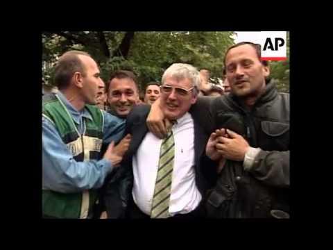 KOSOVO: PRISTINA: NATO CHIEF SOLANA VISIT UPDATE (3)