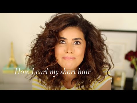 big curly hair tutorial lots