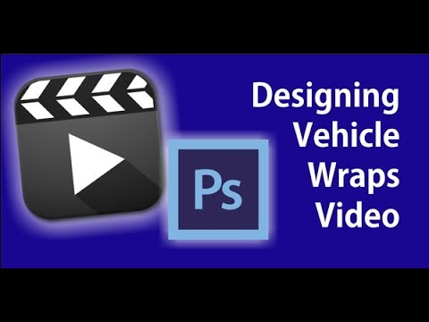 designing with vehicle templates in adobe photoshop youtube