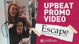 Promotional Video For Escape Hairdressing & Beauty, Bolton