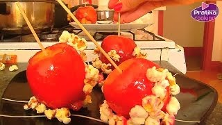 Cooking - How to prepare Popcorn Love Apples