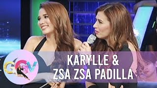 Zsa Zsa and Karylle talk about their love lives | GGV