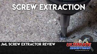 JML screw extractor review