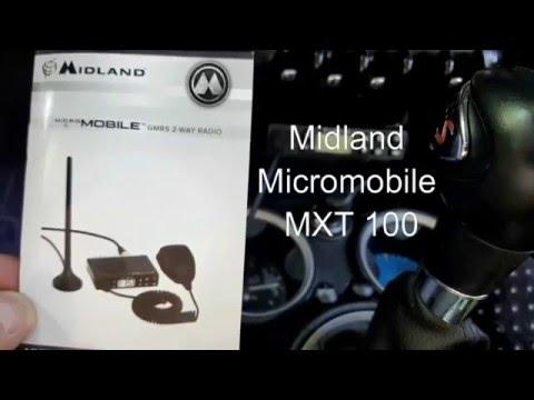 Midland Micromobile MXT 100 programming and setup - YouTube