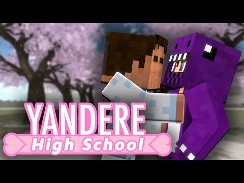 Yandere High School - THE FIRST KISS (Minecraft Roleplay) Ep. 5