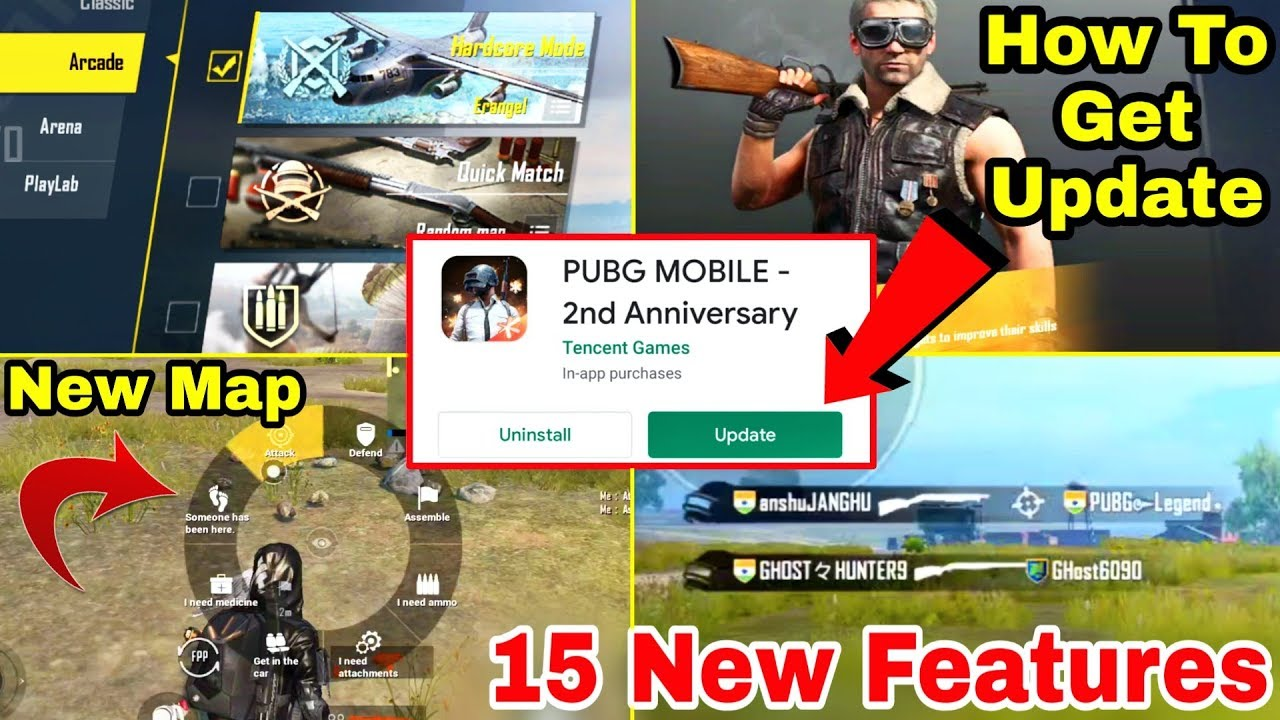 PUBG Mobile 0.17.0 Update 15 New Secret Features    How to Get PUBG Mobile 0.17.0 Update