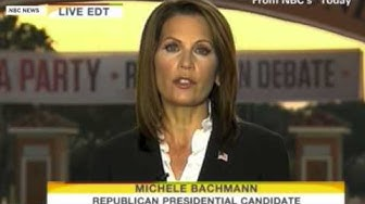 Rep. Bachmann's most memorable political moments