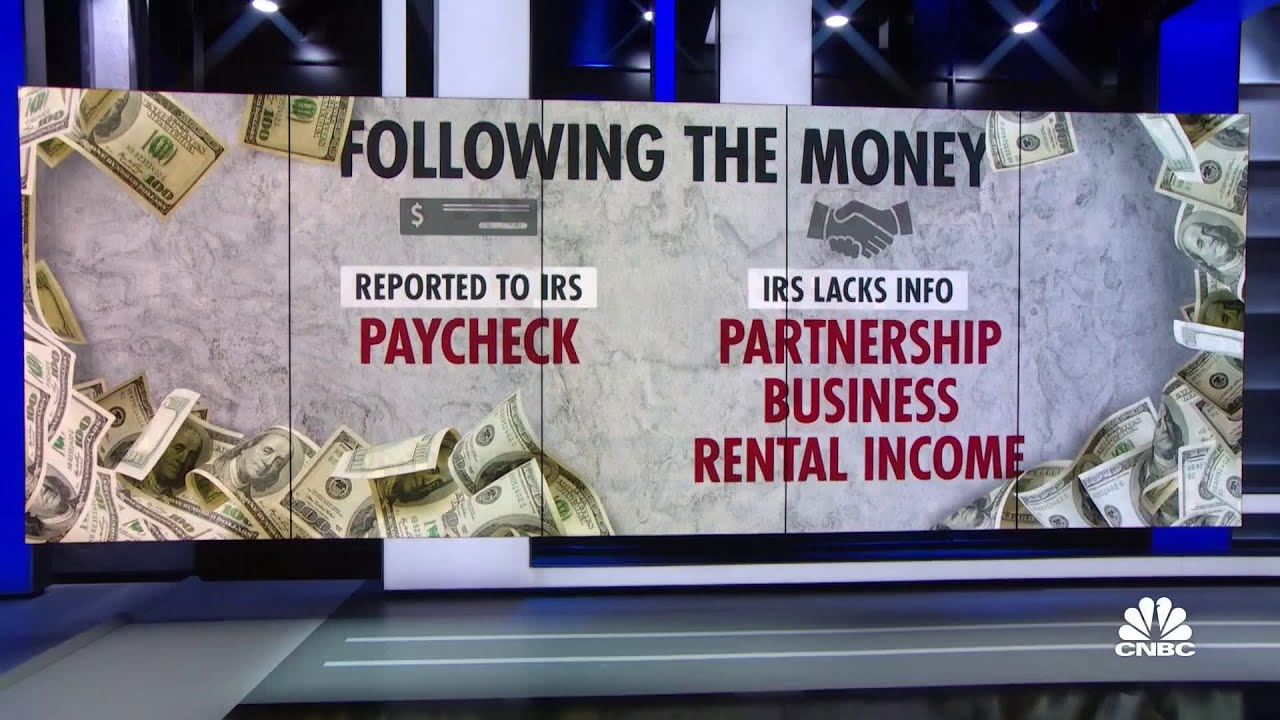Download Proposal would give the IRS more info to see who's not paying taxes