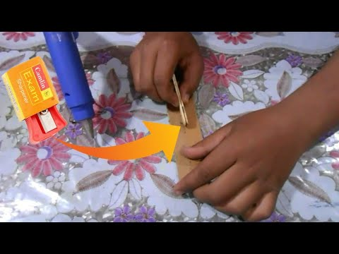 DIY How make sharpener to paper cutter Simple And Easy trick at Home