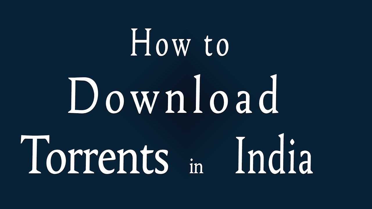 is torrent illegal in india