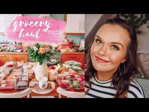 GROCERY HAUL & MEAL PLAN - FAMILY MEAL IDEAS - TESCO GROCERY HAUL FEB 2020
