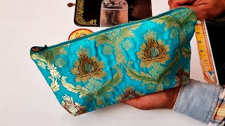 How to Make Very Beautiful Ladies Purse / Hand Bag Cutting and Stitching