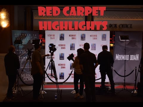 Mermaid Down Red Carpet Highlights  A qu