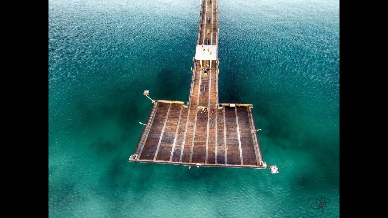 Dania Beach Pier Aerial Photo Shoot At Sunrise