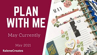 Plan with Me: Happy Planner May Currently Flowers RaleneCreates