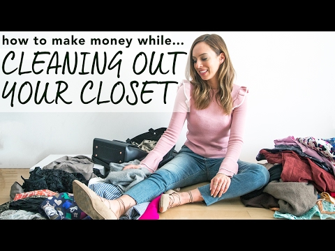 How To Clean Out Your Closet & Make Money!