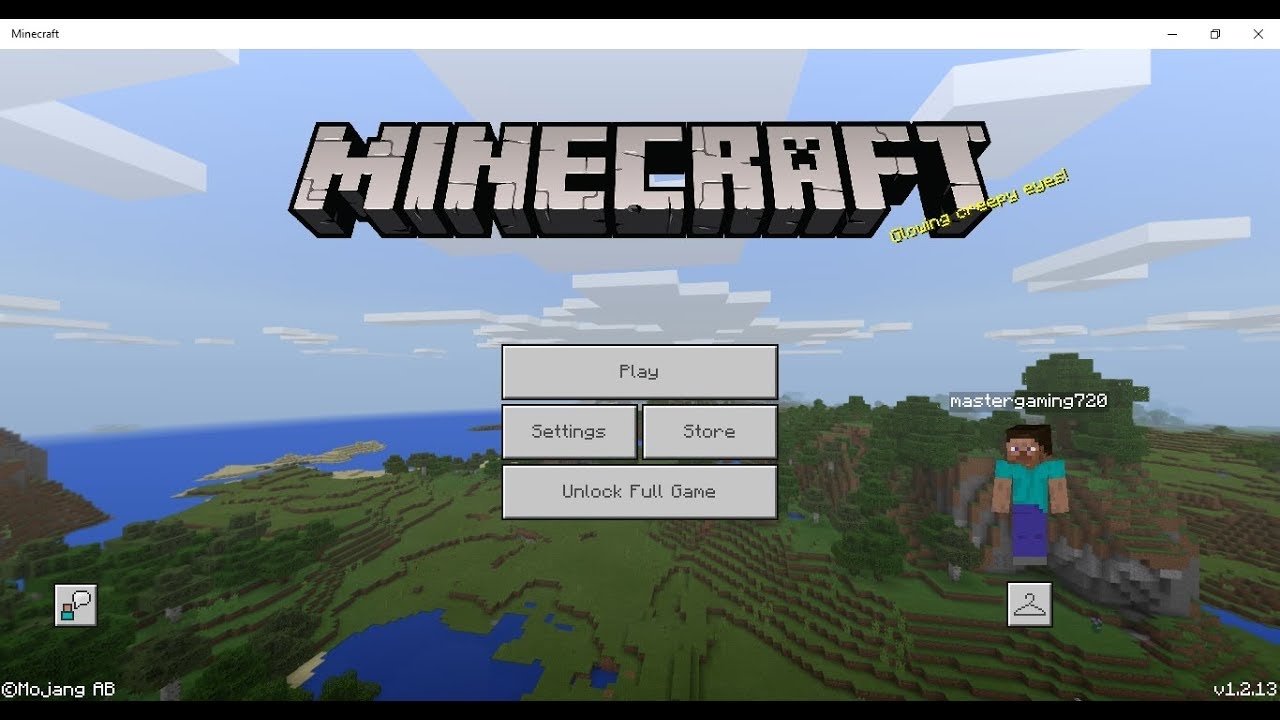 How To Remove Unlock Full Game In Minecraft Youtube