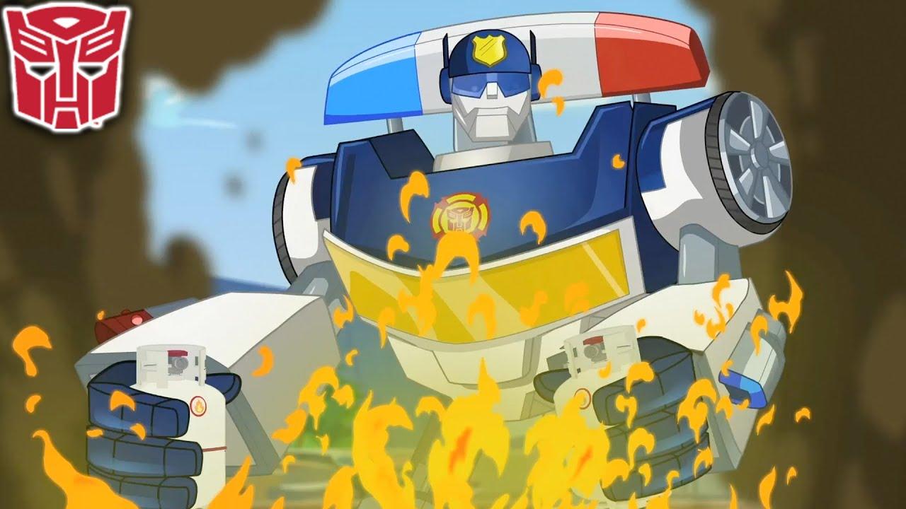 Transformers em português | A Cidade Vigilante | Rescue Bots | T2 Ep.14 | Episódio Completo