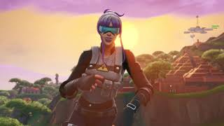 "DONT TOUCH YOURSELF /w *NEW* CUTE ""BRACE"" SKIN 😍❤️ FORTNITE SHOP SEASON 9"