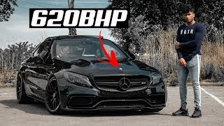 JRIZZY'S 620BHP MERCEDES C63S AMG *COLLAB*