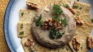 Mushroom And Nut Pate - Healthy Recipe - Mushroom Recipes - How To