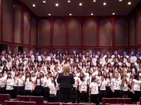 OYE Jim Papoulis - Honor Chorus 2011 (rehearsal)