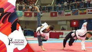 Gold Medal, Freestyle Pair Under 17 Final, Korea National Team.