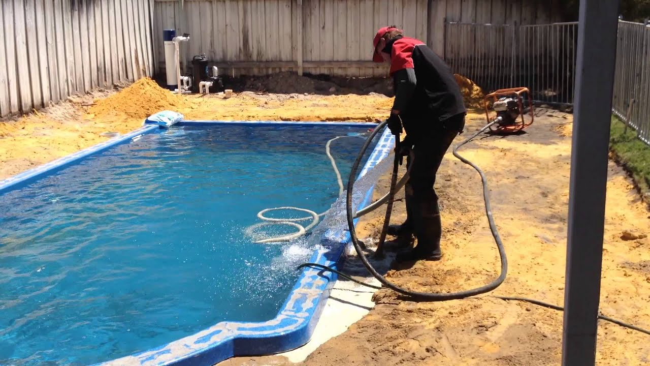 Perth pencil compaction pool and spa expo perth youtube for Pool expo show