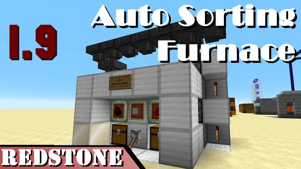 Tutorials/Automatic smelting – Official Minecraft Wiki