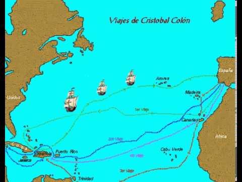 Viajes de col n youtube for Cuarto viaje de cristobal colon