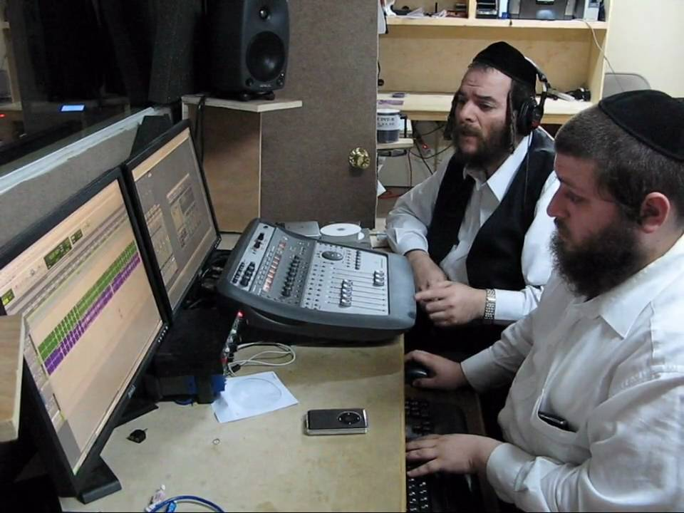 Behind the scenes of Mezamrim Cappella CD