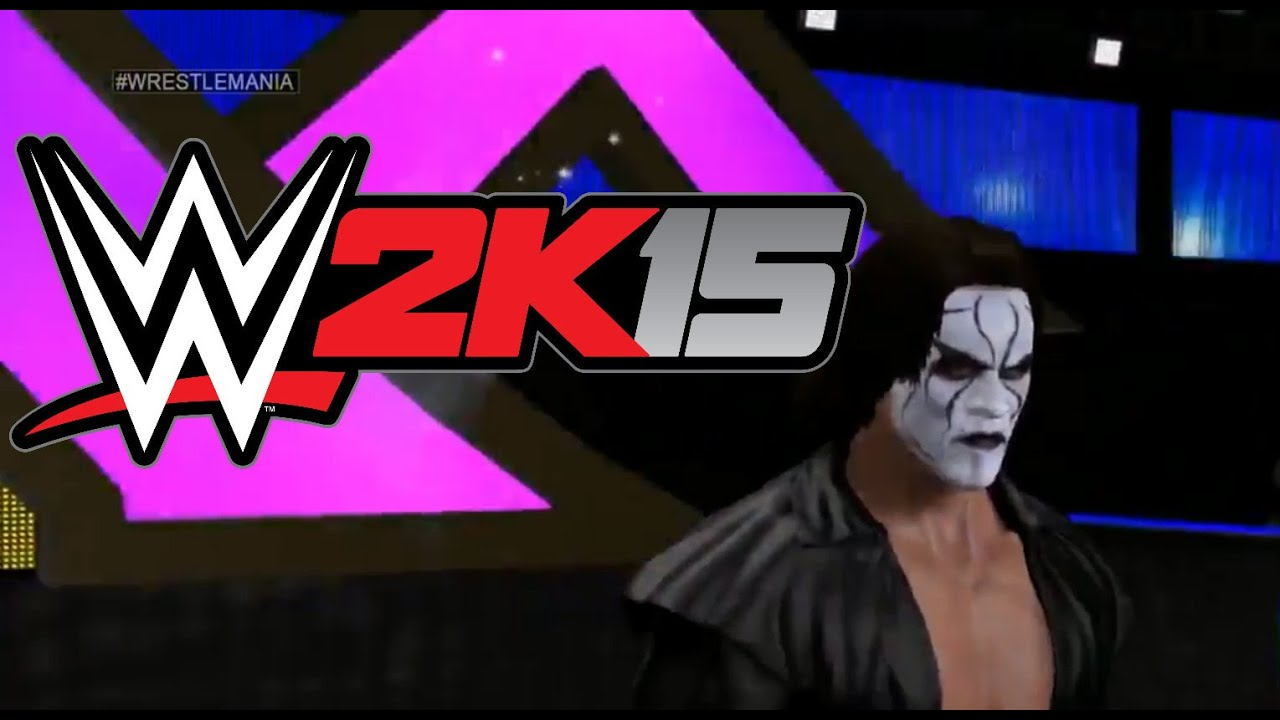 WWE 2K15: Sting Entrance (PS4/Xbox One) - YouTube