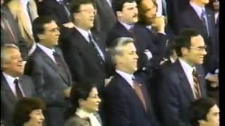 Congress sings Happy Birthday to Reagan!