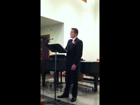 """""""When I Say I Do"""" Solo by Tim Wetmore"""