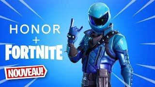 HOW TO KNOW THE HONOR View20 SKIN on FORTNITE (Fortnite News)