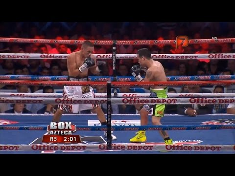 "Juan Francisco ""Gallo"" Estrada vs Hernan ""Tyson"" Marquez Full HD Tv Azteca"