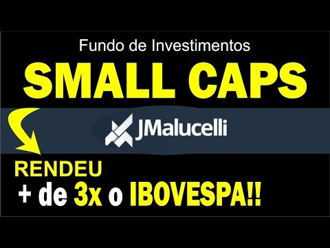 Fundo de SMALL CAPS : Ações do JMalucelli Small Caps FIA