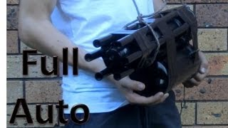 Homemade Full Auto Airsoft Mini Gun 3000 RPM