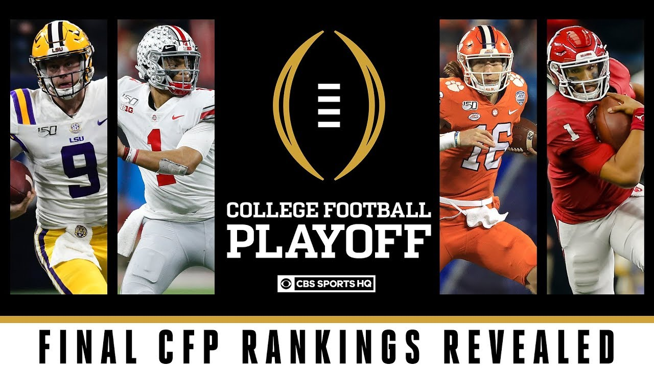 2019 College Football Playoff bowl games: LSU jumps Ohio State ...