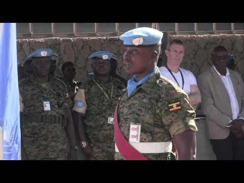 The UN in Somalia marks the 70th anniversary of the United Nations HD