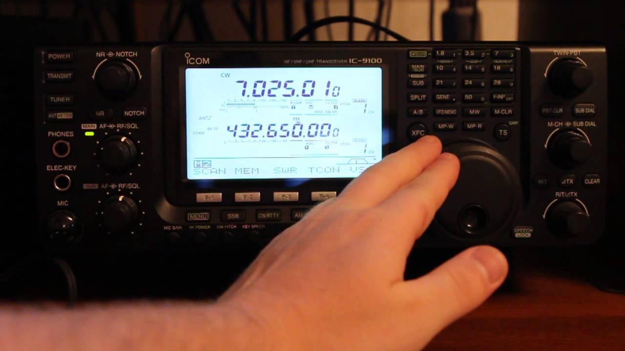 Digital Mode PSK 31 with Icom IC 9100 and Fldigi 26.02.2015 - 22 .