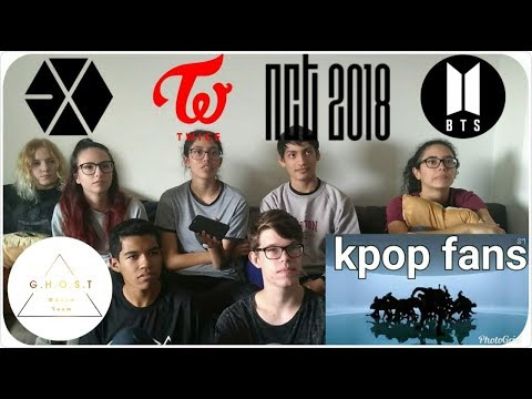 [REACT] Non-kpop fans react to (BTS, NCT, EXO and TWICE) | GHOST