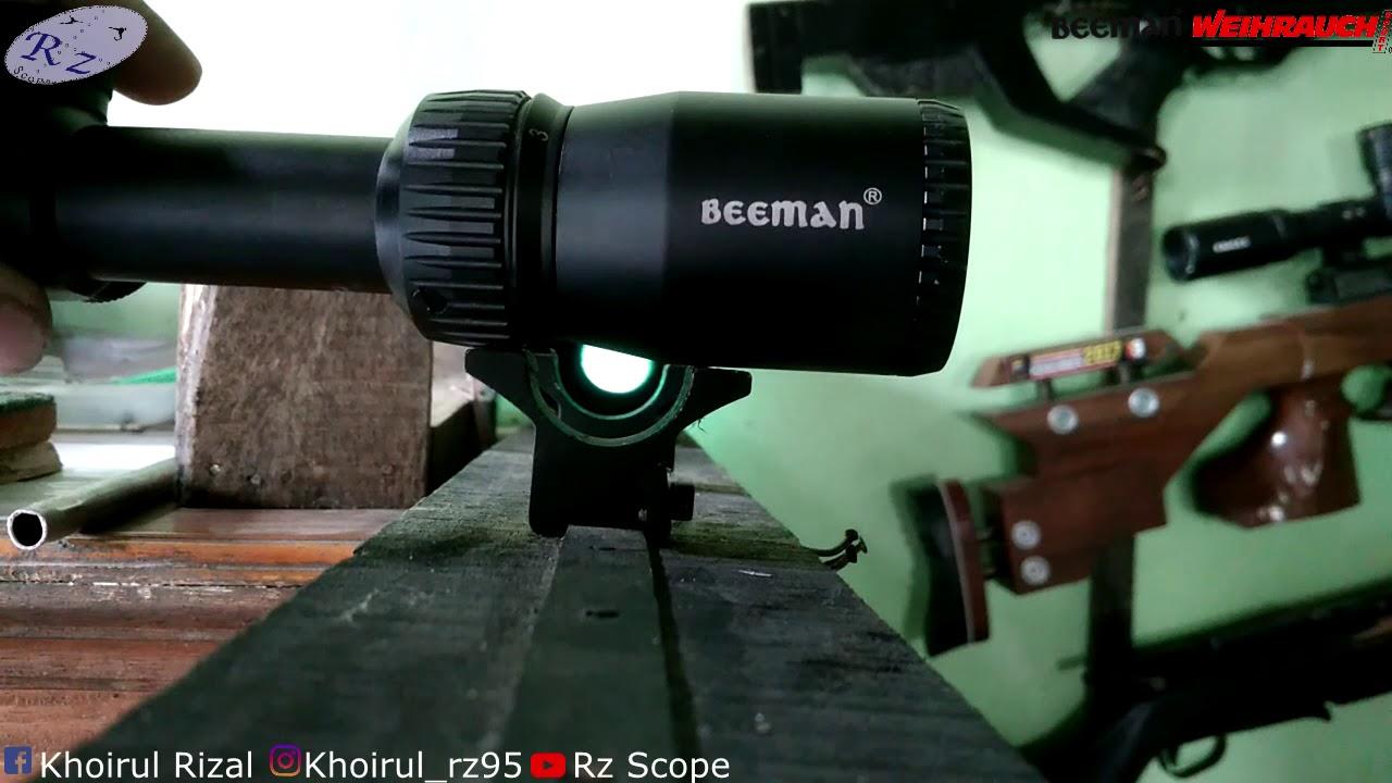 Uji teleskop beeman tes dan review youtube