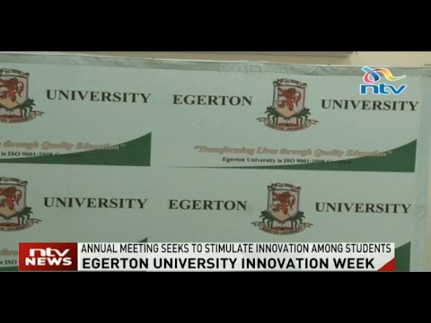 Egerton's International Conference and Innovation week takes place