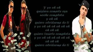 Magnate Y Valentino Ft Nicky Jam - Olvidarte No Quiero (Letra)