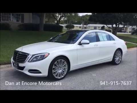 2017 Mercedes S550 Designo Diamond White Nut Brown 941 915 7637