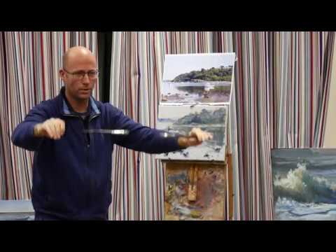 Tony Parsons – Full Length Oil Painting Demo – Walliswood