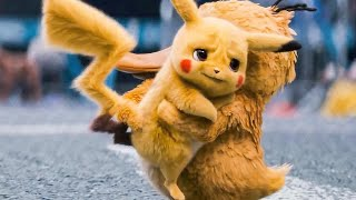 POKEMON: DETECTIVE PIKACHU - 11 Minutes Clips + Trailers (2019)
