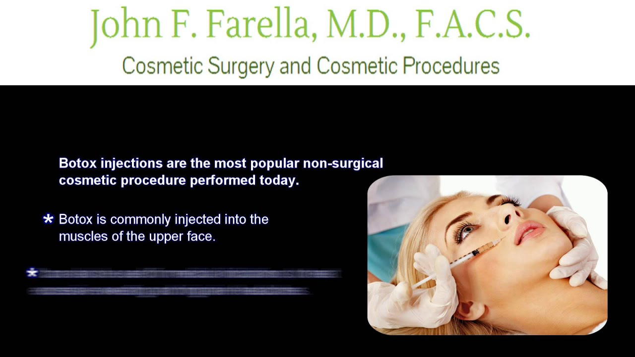 Botox Injections - How Often Do You Need Them? - YouTube